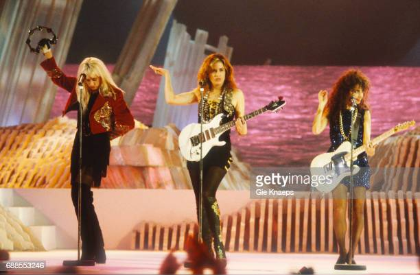 The Bangles Susanna Hoffs Debbi Peterson Vicki Peterson Diamond Awards Festival Antwerpen Belgium