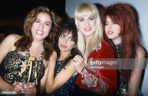 The Bangles Susanna Hoffs Vicki Peterson Debbi Peterson Michael Steele Diamond Awards Festival Antwerpen Belgium