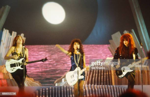 The Bangles Susanna Hoffs Vicki Peterson Michael Steele Diamond Awards Festival Antwerpen Belgium