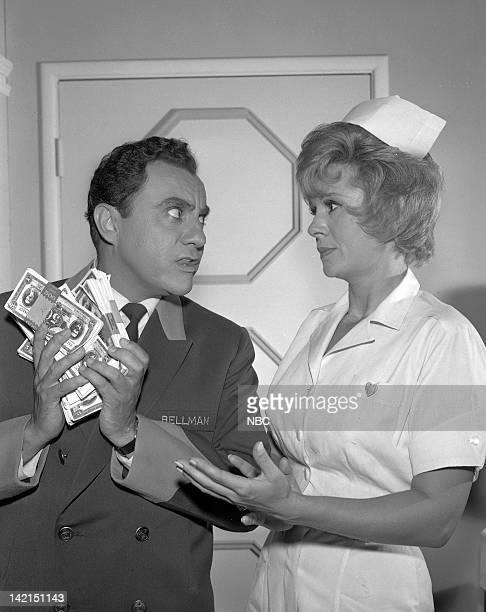 SHOW 'The Bank HoldUp' Episode 106 Pictured Bill Dana as Jose Jiminez Barbara Stuart as Sal