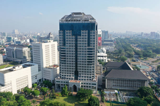 IDN: Bank Indonesia Headquarters Ahead of Rate Decision