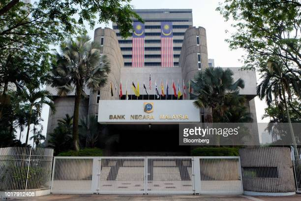 The Bank Negara Malaysia headquarters stands in Kuala Lumpur Malaysia on Friday Aug 17 2018 Central bank GovernorNor Shamsiah Mohd Yunus who...