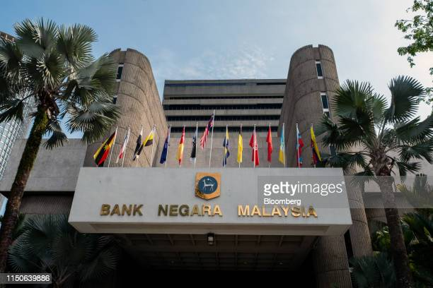 The Bank Negara Malaysia headquarters stands in Kuala Lumpur, Malaysia, on Wednesday, June 19, 2019. Malaysias central bank is strengthening...