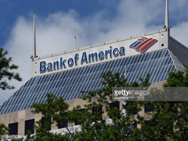 The Bank of America Center is seen on March 29 2019 in Orlando Florida On April 2 Bank of America announced plans to make $5 billion in mortgages...