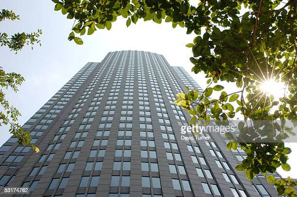 The Bank of America Corporate Center is seen June 30 2005 in downtown Charlotte North Carolina Bank of America which has its corporate headquarters...