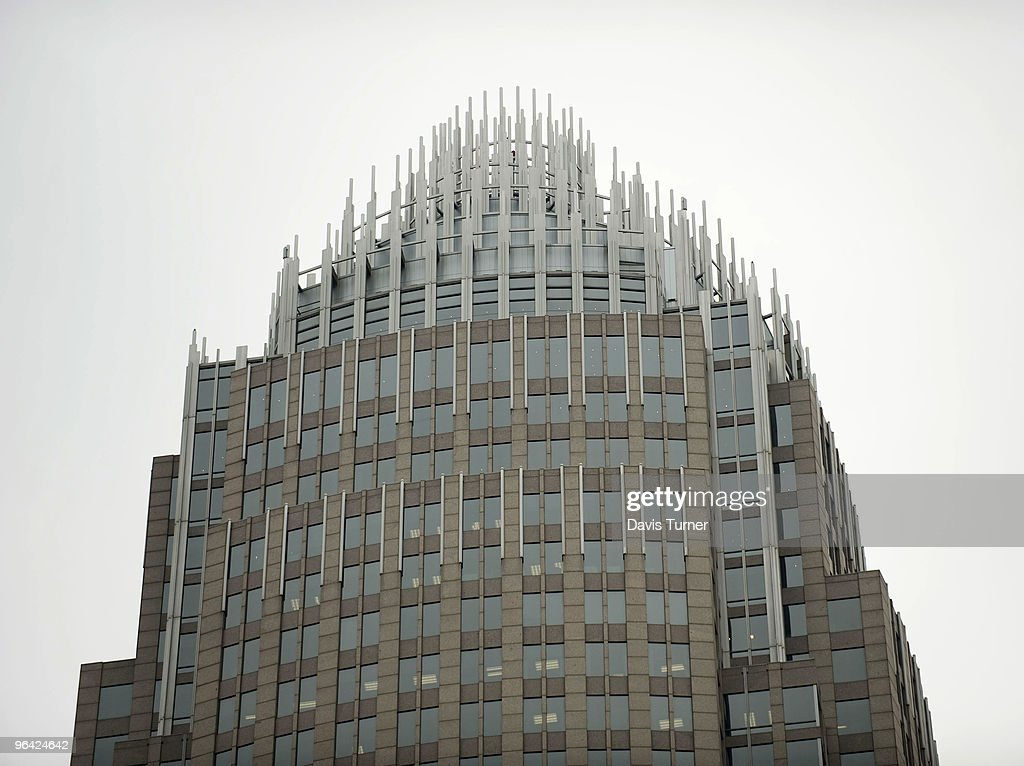 The Bank of America headquarters is seen on February 4, 2010 in Charlotte, North Carolina. Bank of America's former Chief Executive Officer Ken Lewis and former Chief Financial Officer Joe Price have been charged with securities fraud by the New York attorney general.