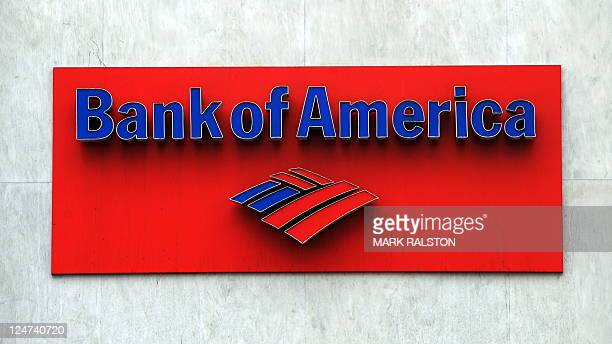 The Bank of America logo is seen at a branch in Hollywood on October 19 2010 Two top US banks are moving on the offensive as they struggle to put the...