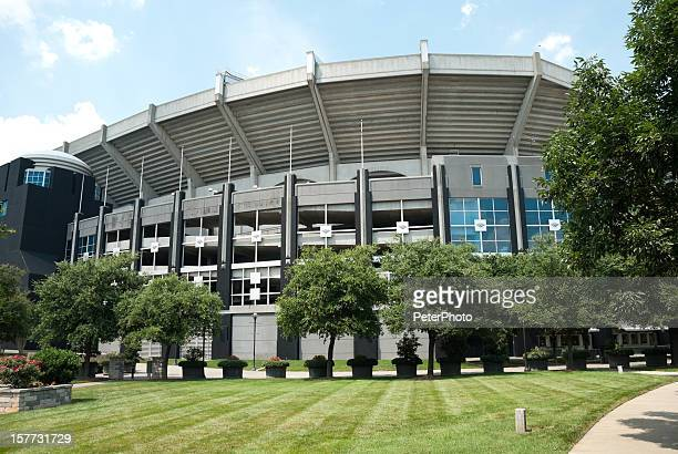 The Bank of America stadium in downtown Charlotte