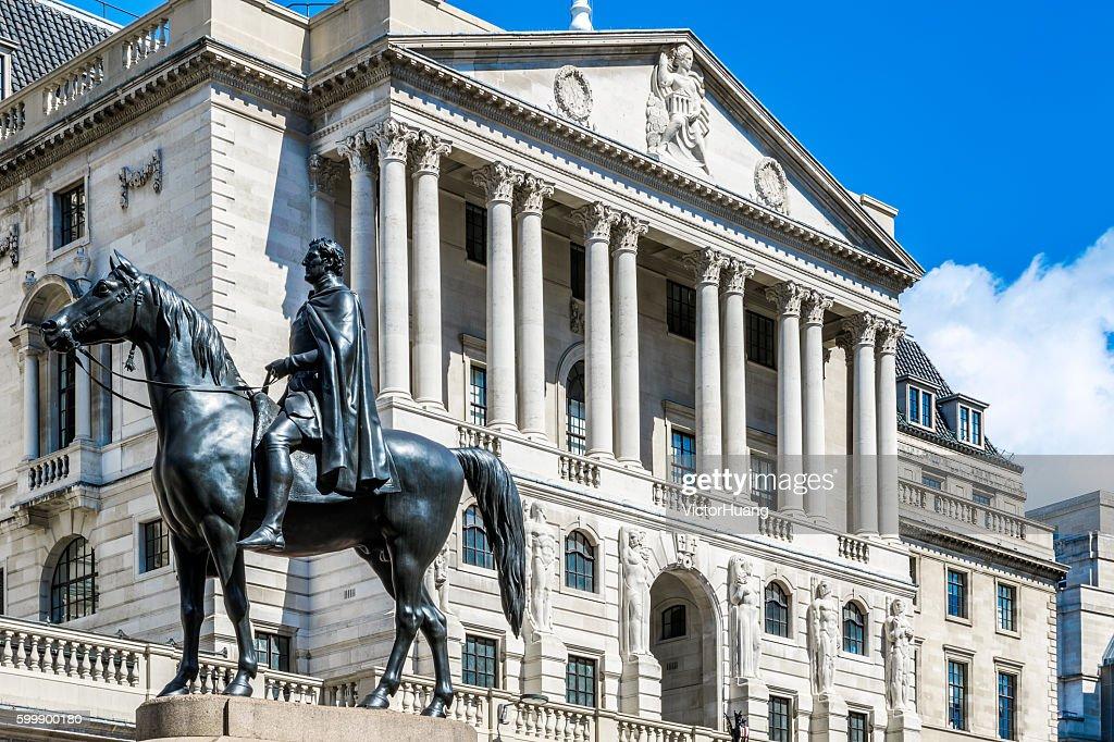 The Bank Of England : Stock Photo