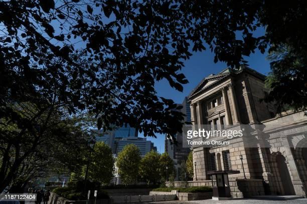 The Bank of Japan building stands on November 12, 2019 in Tokyo, Japan.