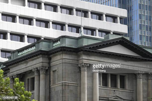 The Bank of Japan headquarters stands in Tokyo, Japan, on Tuesday, July 31, 2018. The central bank left its key interest rates unchanged while...