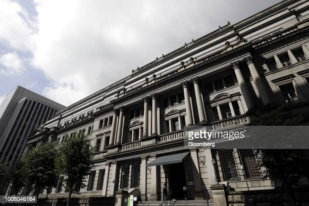 The Bank of Japan headquarters stands in Tokyo Japan on Tuesday July 31 2018 The central bank left its key interest rates unchanged while announcing...
