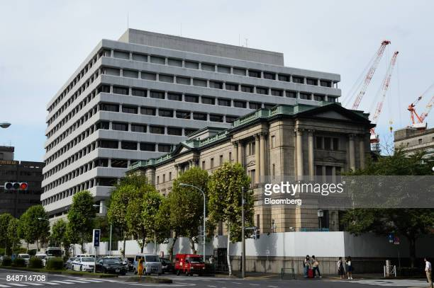 26 General Views Of The Bank Of Japan Headquarters Ahead Of Monetary