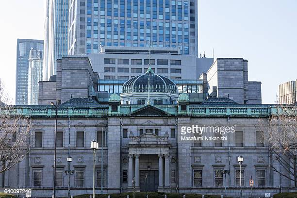 the bank of japan osaka branch - central bank stock pictures, royalty-free photos & images