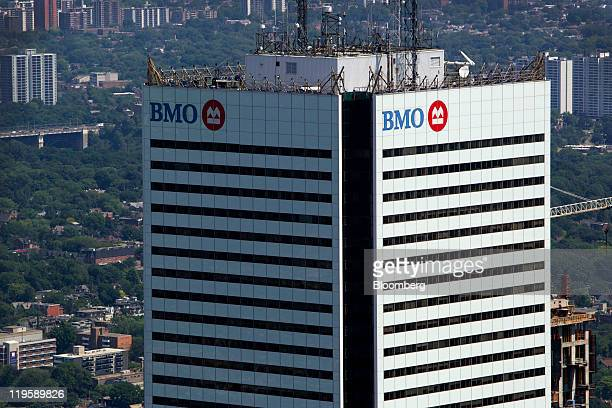 The Bank of Montreal headquarters building stands in Toronto Ontario Canada on Tuesday July 19 2011 Bank of Montreal Canada's fourthlargest lender by...