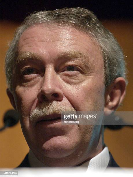 The Bank of Queensland Ltd Managing Director David Liddy speaks during the Australasian Institute of Banking and Finance Forum in Sydney Australia...