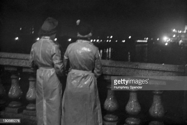 The bank of the River Clyde in Glasgow Scotland 1939 Original Publication Picture Post 91 Glasgow pub 1st April 1939