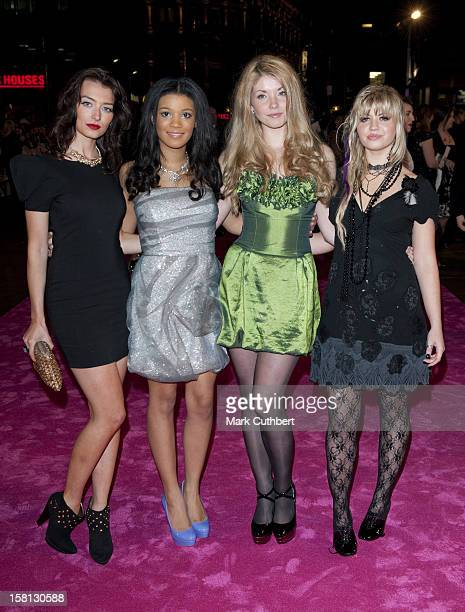 The Banned Of St TriniansJessica Bell Jessica Agombar Daisy Tonge And Harriet Bamford Arriving For The Uk Premiere Of St Trinian'S 2 The Legend Of...