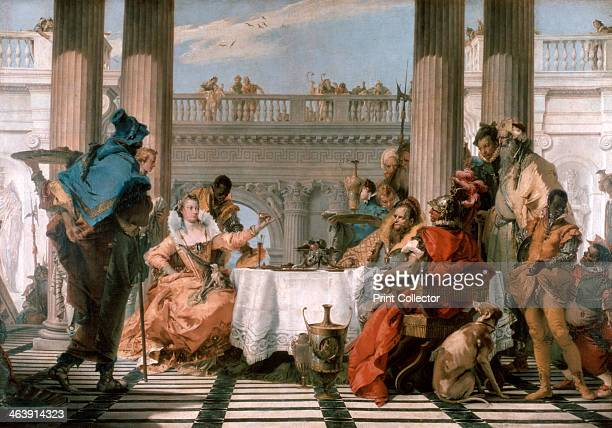'The Banquet of Cleopatra' 17431744 One of the most important commissions carried out by Tiepolo in the 1740s was without a doubt the decoration of...