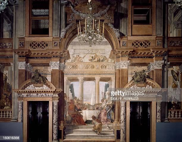 The Banquet of Cleopatra by Giambattista Tiepolo fresco Palazzo Labia Venice