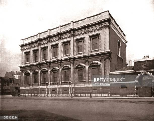 The Banqueting House, Whitehall, London, 1894. Designed by Inigo Jones for James I and completed in 1622. From Beautiful Britain; views of our...