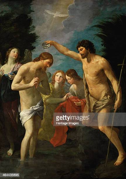 The Baptism of Christ c1623 Found in the collection of the Art History Museum Vienne