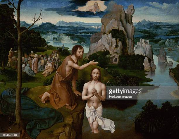 The Baptism Of Christ Ca 1515 Found In Collection Art History Museum Vienne