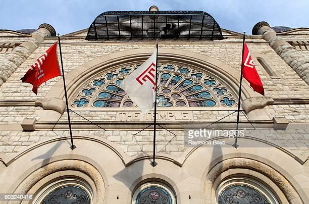 The Baptist Temple at Temple University in Philadelphia, Pennsylvania on August 27, 2016.