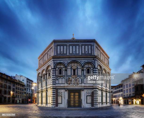 The Baptistery of St. John in th early morning