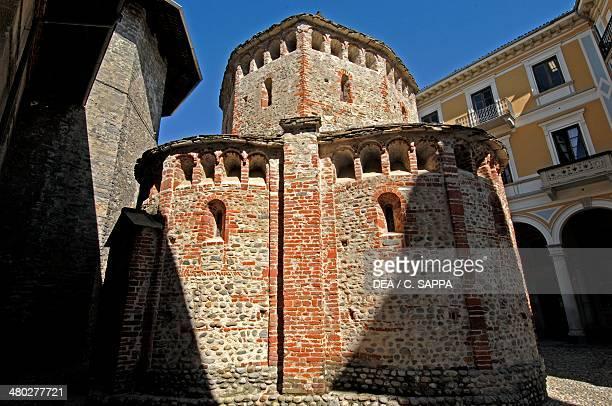 The Baptistery Romanesque style Biella Piedmont Italy