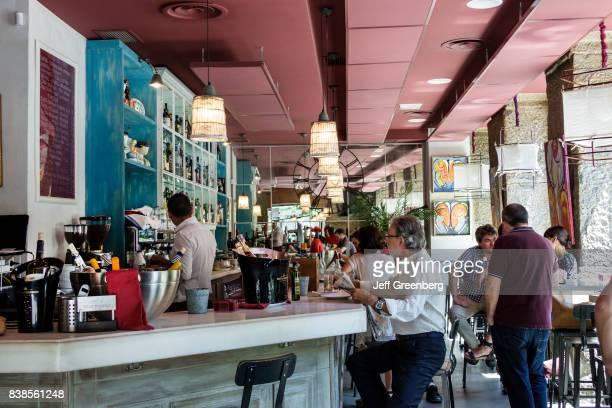 The bar inside ANEL Tapas Lounge