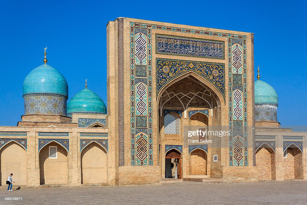 The Barak Khan Madrasah, Tashkent : Nieuwsfoto's