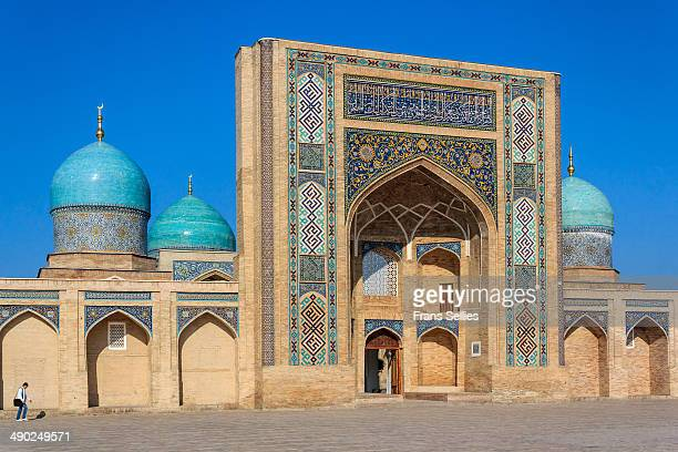 The Barak-khan Madrasah was built in the XVI century by a grandson of Ulugbek. A madrasah is a religious school. This madrasah is part of a greater...