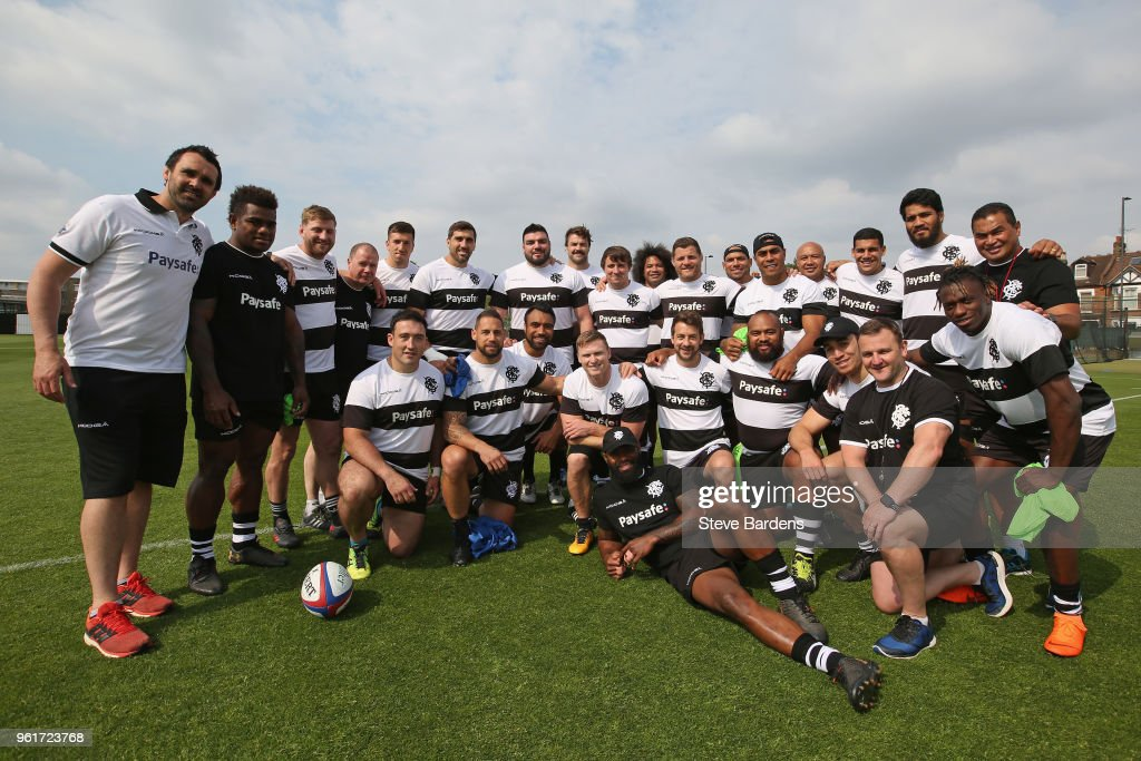 Barbarians Training Session
