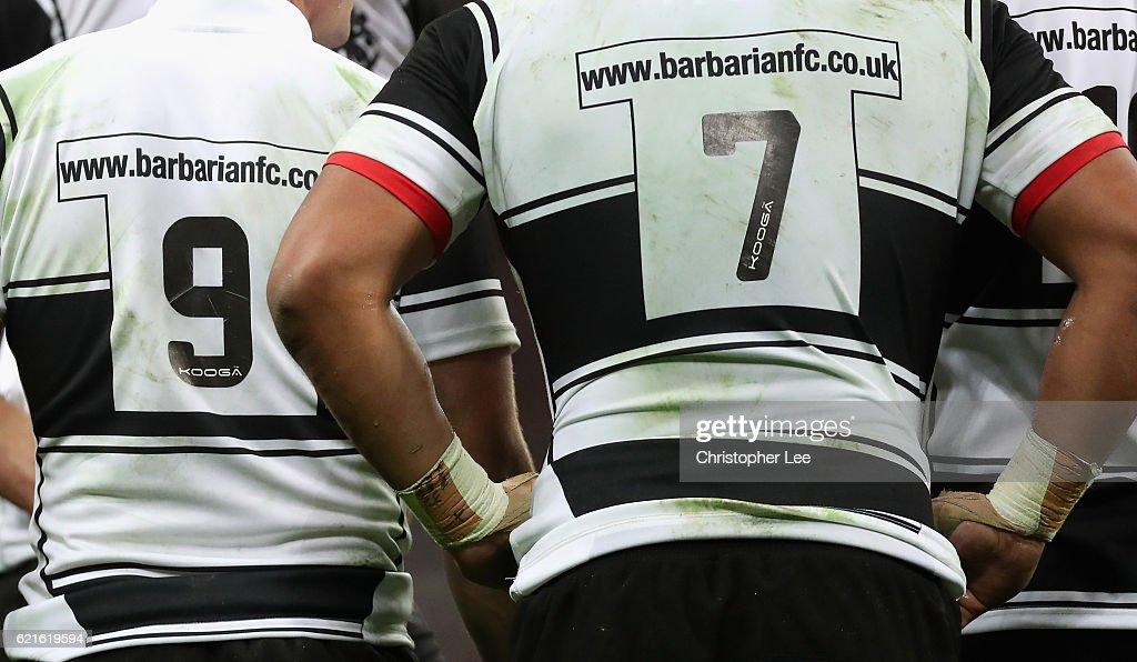Barbarians v South Africa - Killik Cup : News Photo