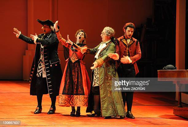 The Barber of Seville by Gioachino Rossini in Toulouse France on March 15 2011 Scene of The Barber Of Seville an opera buffs in two acts by Gioachino...