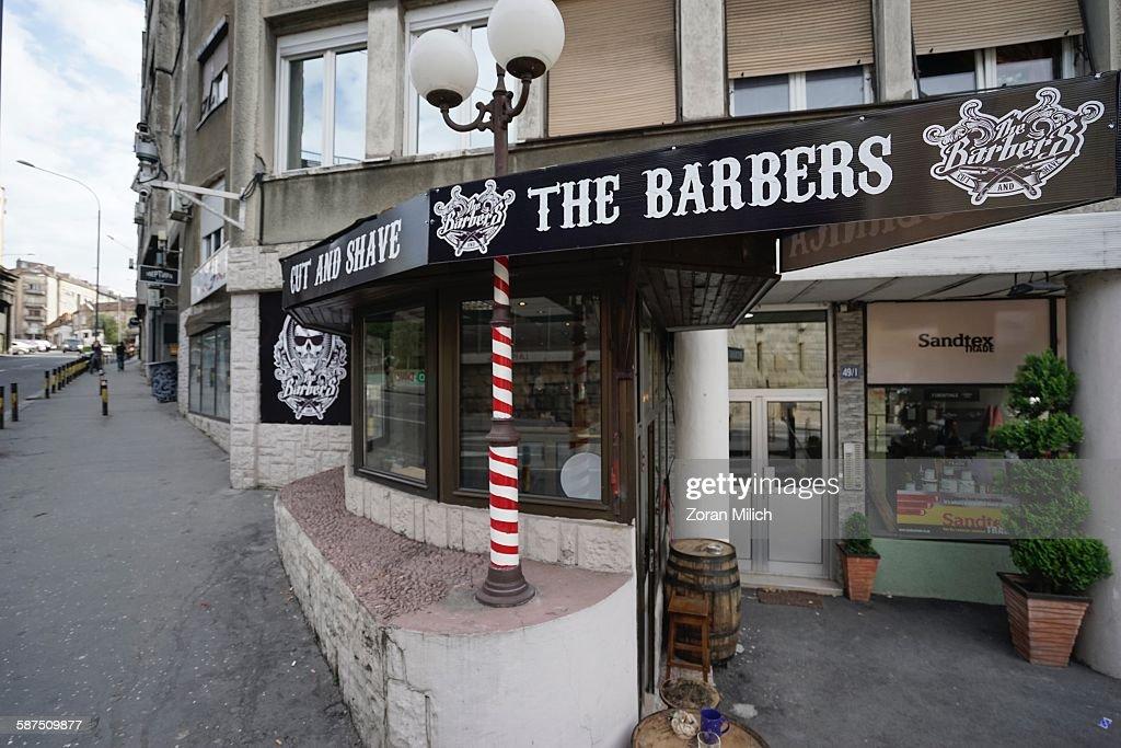 Barber Culture : News Photo