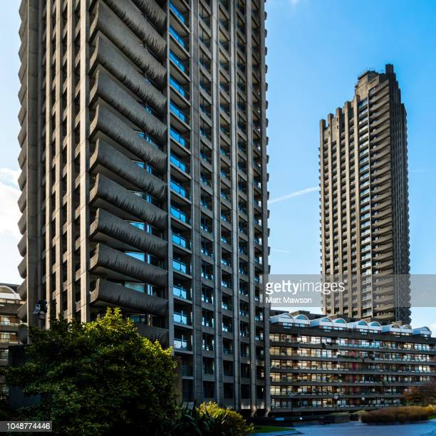 The Barbican Centre apartments in central London. UK.