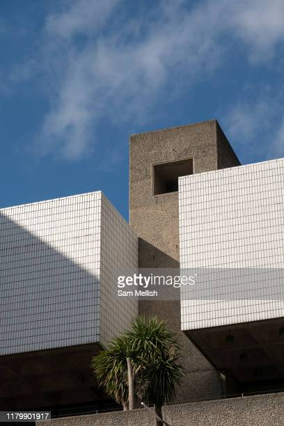 The Barbican Centre on the 12th September 2019 in London in the United Kingdom. The Barbican Centre is a performing arts centre in the Barbican...
