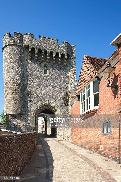 The Barbican Gate at Lewes Castle