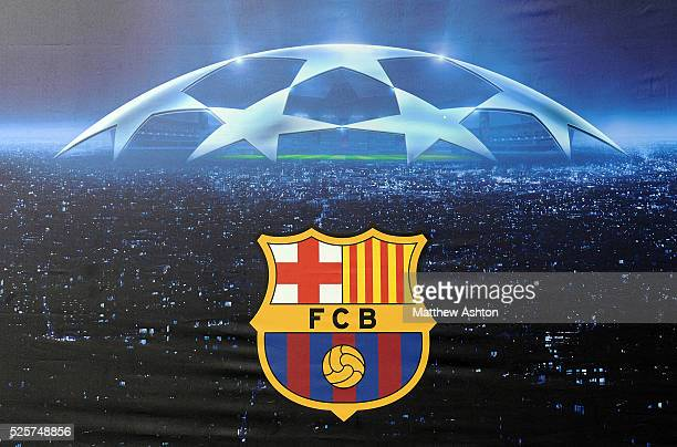 The Barcelona club crest