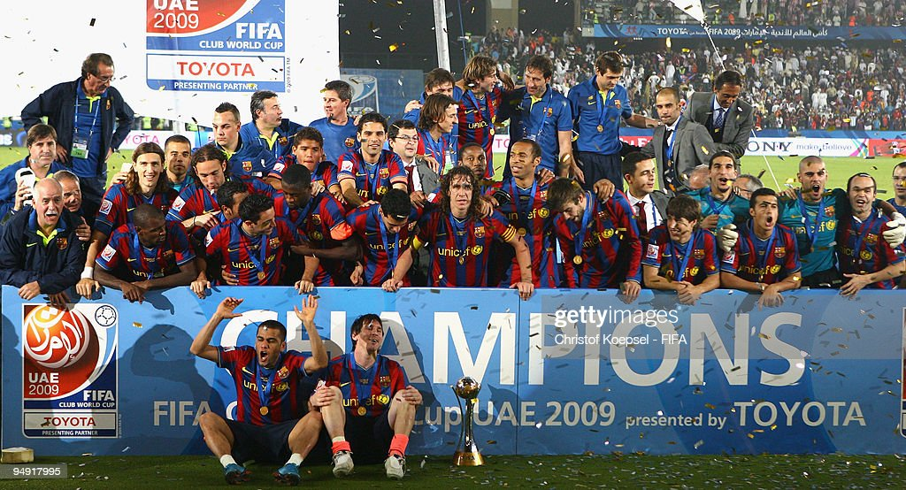 Estudiantes LP v FC Barcelona: Final - FIFA Club World Cup 2009 : News Photo