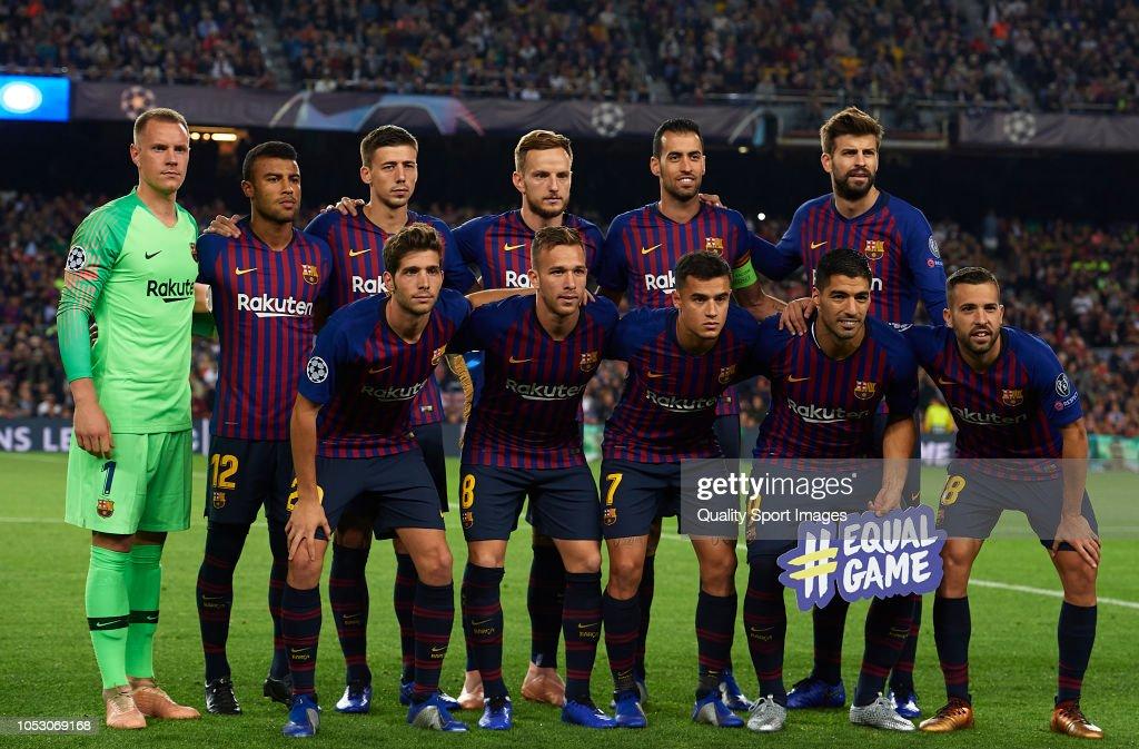 FC Barcelona v FC Internazionale - UEFA Champions League Group B : ニュース写真