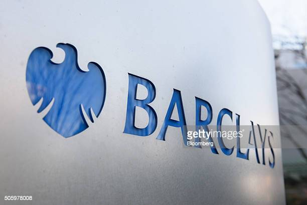 The Barclays Plc logo is displayed outside the company's offices in Tokyo Japan on Thursday Jan 21 2016 Barclays Chief Executive Officer Jes Staley...