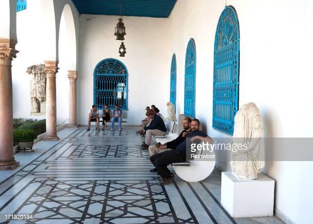 el museo nacional de túnez del bardo - tunez fotografías e imágenes de stock