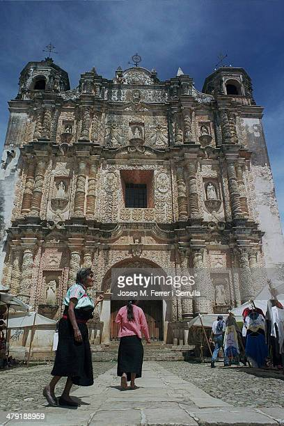 CONTENT] The baroque church of Santo Domingo is located in the city of San Cristobal de las Casas in Chiapas State The frills of its facade and its...