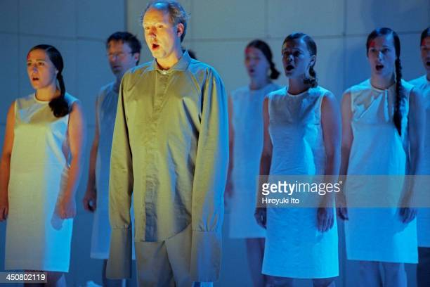 The Baroque Opera Institue performing Handel's 'Messiah' at John Jay College on December 8 1999This imageMark Bleeke