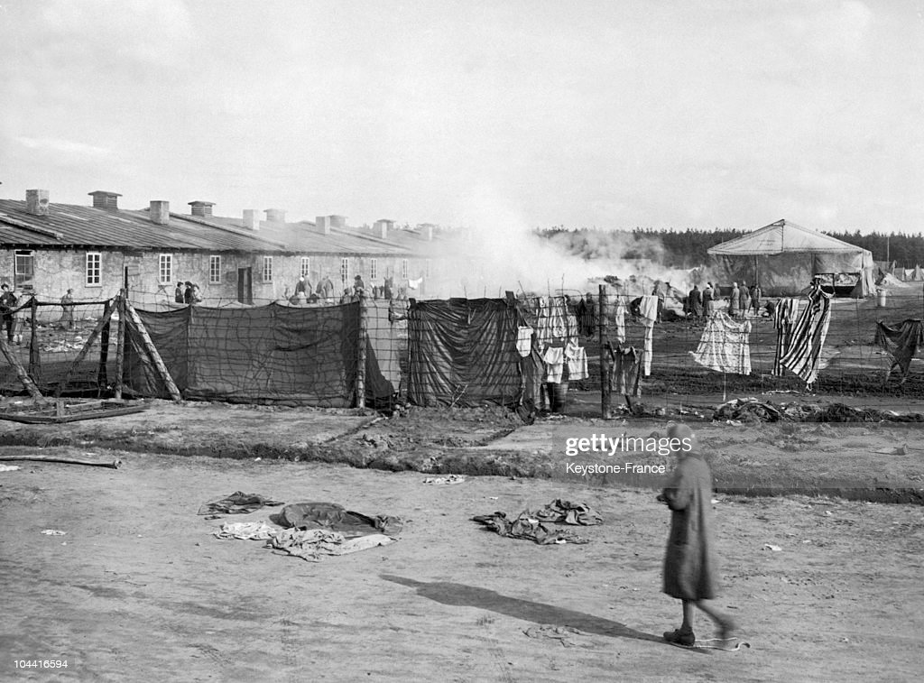 The Belsen Concentration Camp In 1944 : News Photo