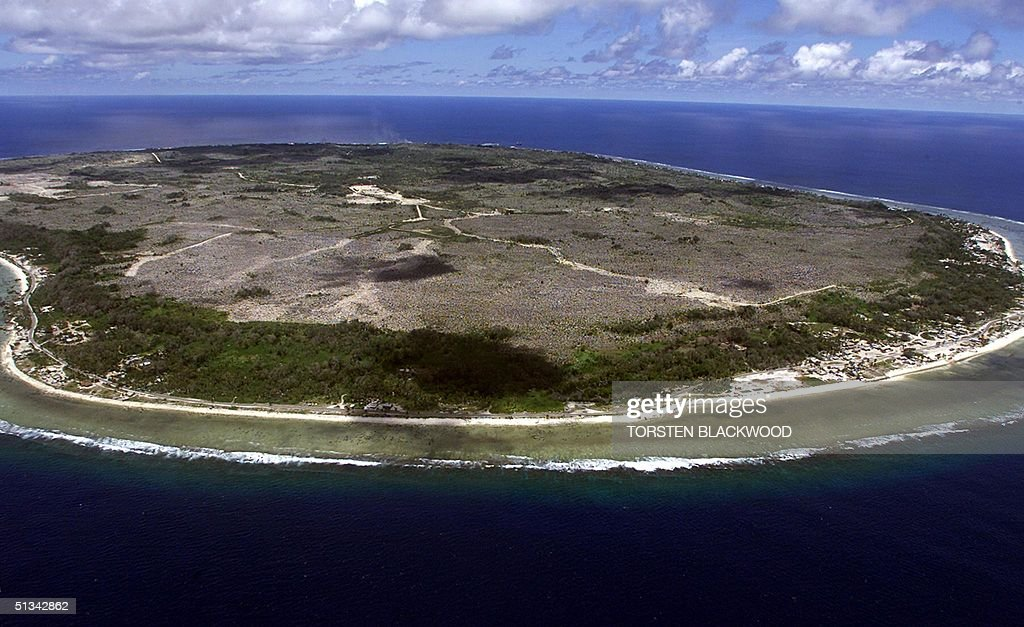 The barren and bankrupt island state of the Republ : News Photo