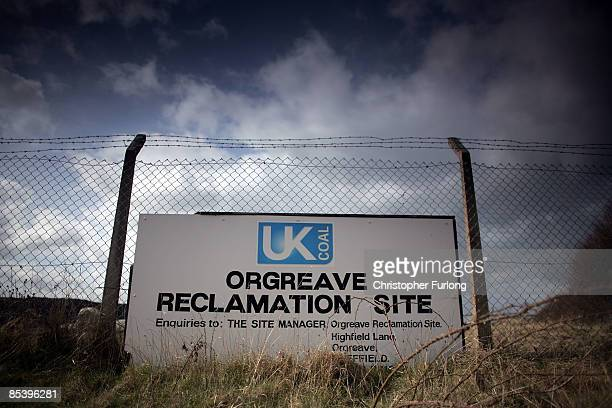 The barren land where the former Orgreave coking plant and open cast coal mine was situated 25 years on from the start of the miners strike on March...